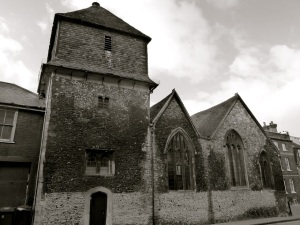 Chesil St Theatre (St Peters Church), Winchester, C12
