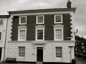 Eastgate House Winchester, 1830s