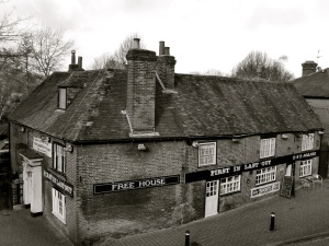 First In Last Out Pub, 37 Wales St, Winchester, C18