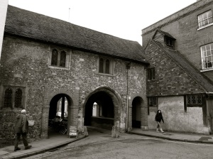 Kingsgate (with St Swithun-upon-Kingsgate Church) WInchester-2