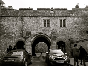 Kingsgate (with St Swithun-upon-Kingsgate Church) WInchester