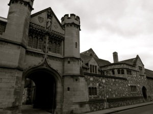 South Africa Gateway, Winchester College 1902