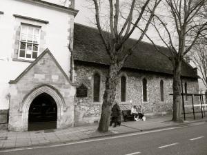 St Johns Chapel WInchester, C13