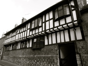 The Tudor House, St Johns St, Winchester, C16
