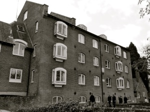 Wharf Mill. Winchester, 1885