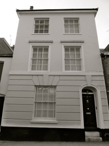 5 St Swithun St Winchester 1840