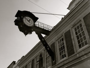 Old Guildhall Clock High St Winchester