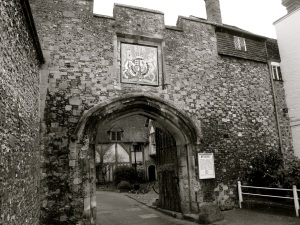 St Swithuns Gate Winchester C13