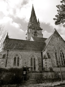 St Thomas Church Winchester 1845