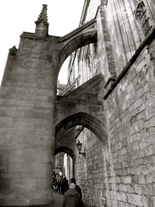 Winchester Cathedral Flying Buttresses (C20)