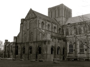 Winchester Cathedral (north west)