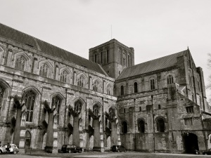 Winchester Cathedral (south west)
