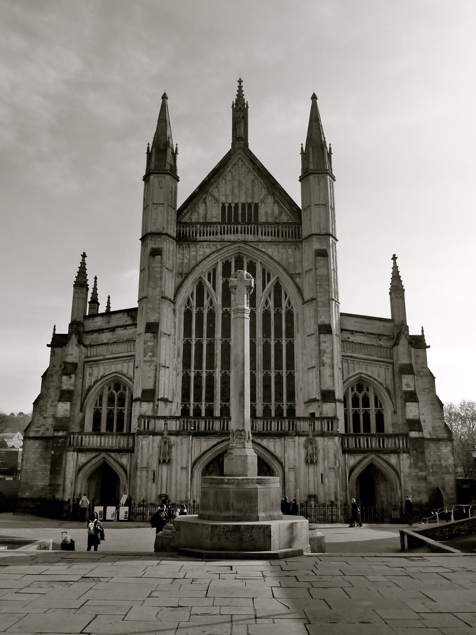 Winchester cathedral west falling awake for Winchester architects