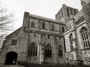 Winchester Cathedral with Chapter House)