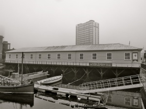 Boathouse 5 Portsmouth Dockyard 1882