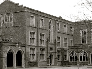 Flint Court Winchester College 1870