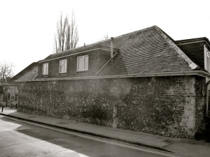 Hyde Abbey Cart Shed Winchester C12