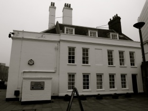 Porter's Lodge (West) Portsmouth Dockyard 1708