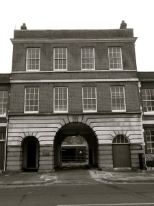 South Office Block (Centrepiece) Portsmouth Dockyard 1786
