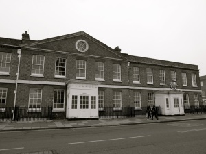 South Office Block Portsmouth Dockyard 1786