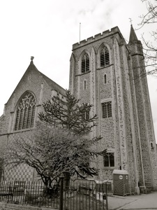 St Peters Church (East) Winchester 1926
