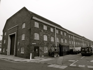 Stores 18 & 19 Portsmouth Dockyard 1771 (Reconstructed 1954)
