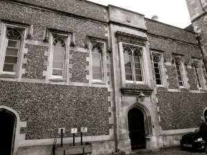 Wardens Lodgings (West) Winchester College 1832