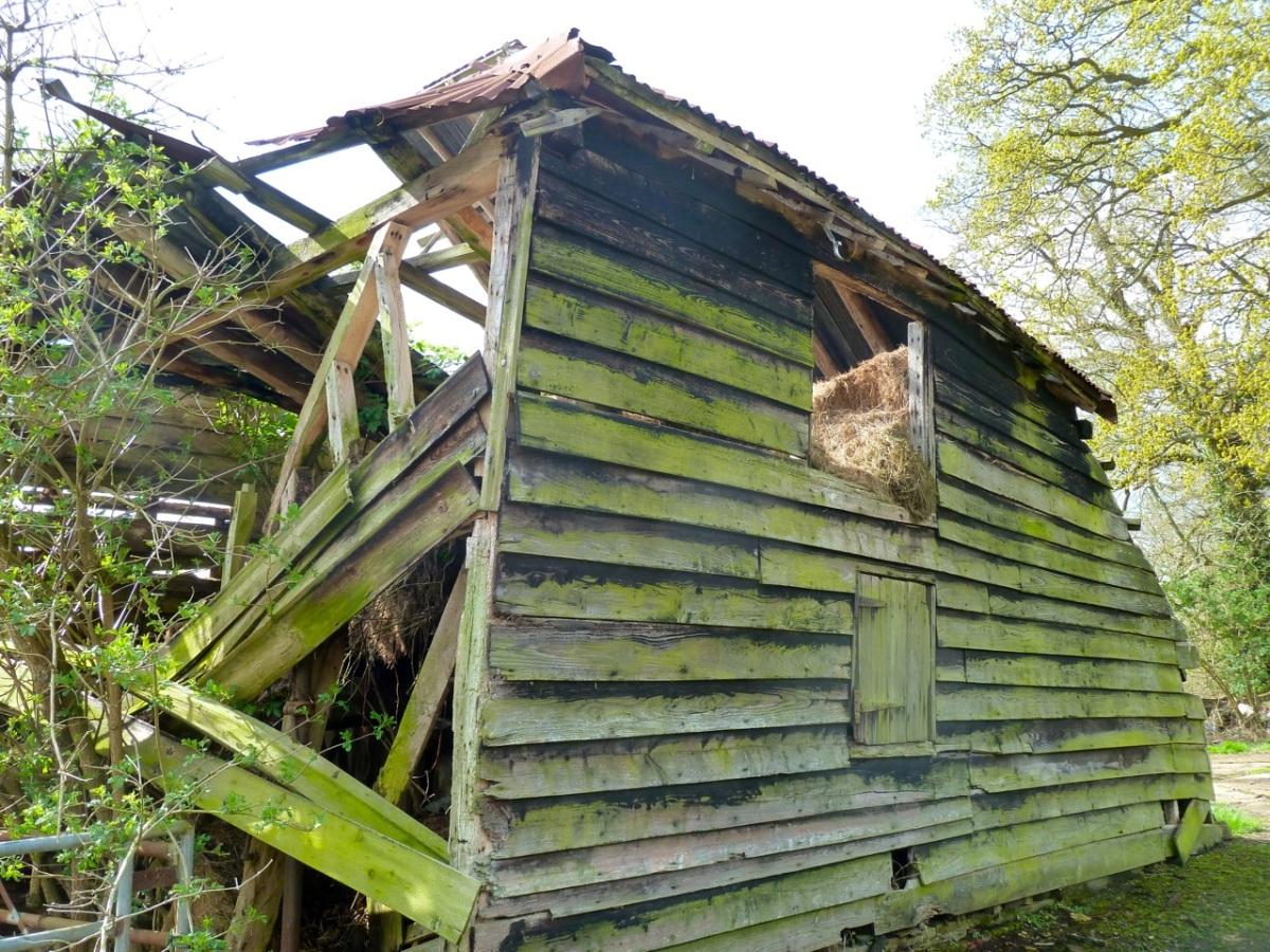 Half a barn