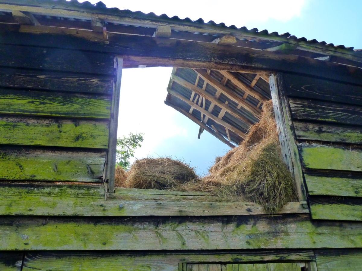 Half a roof