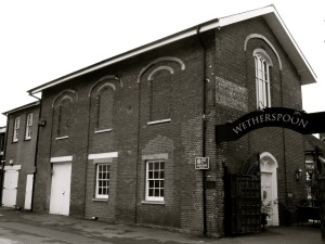 Old Mansonic Hall (North) College St Petersfield C19