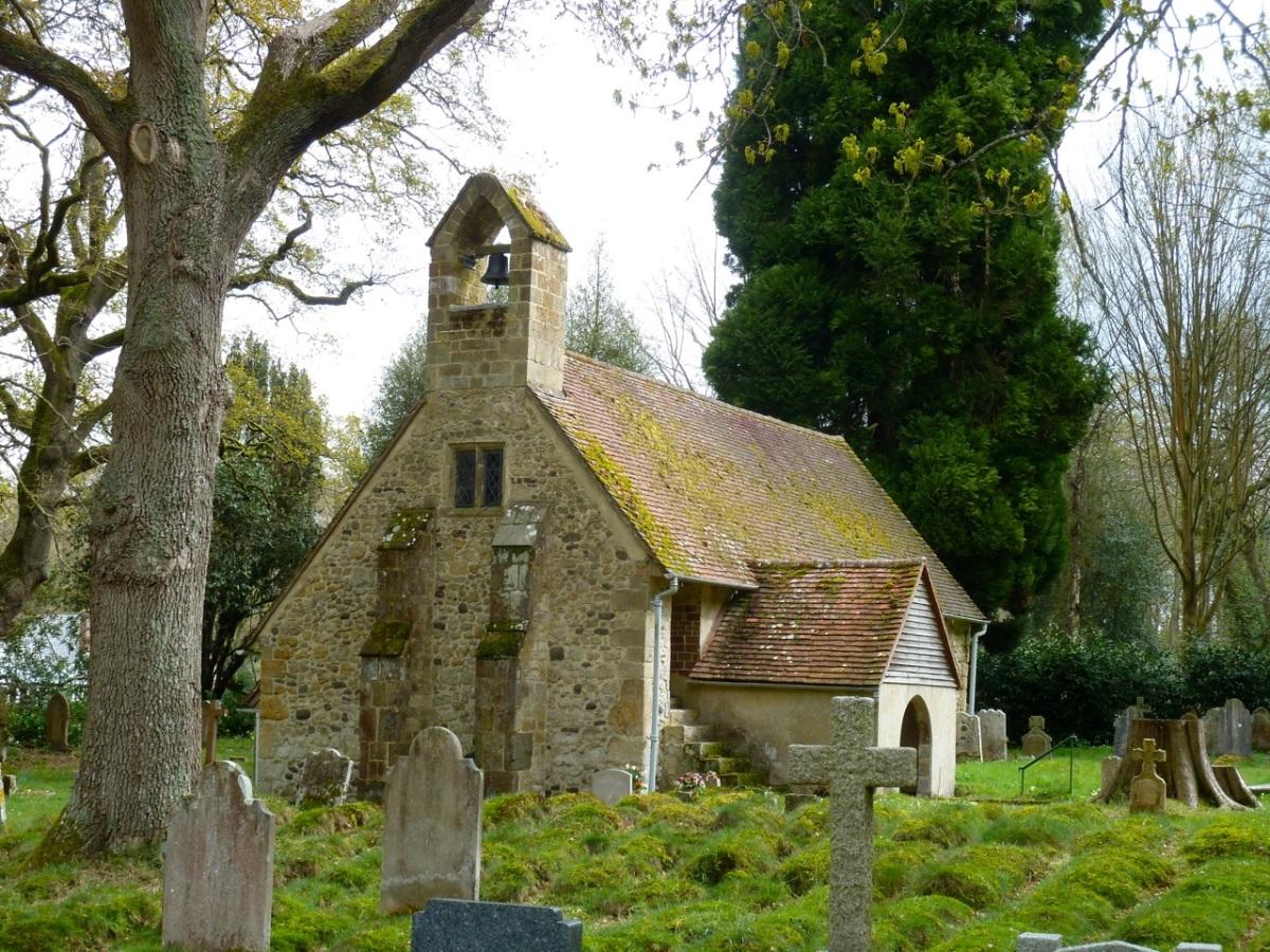 Tuxlith Chapel Milland  & Graveyard C16