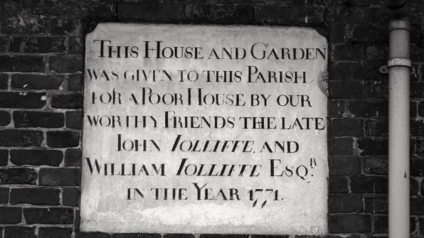 36 Swan St Petersfield Plaque 1771