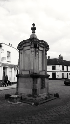 First World War memorial 1922 by Inigo Triggs High St Petersfield