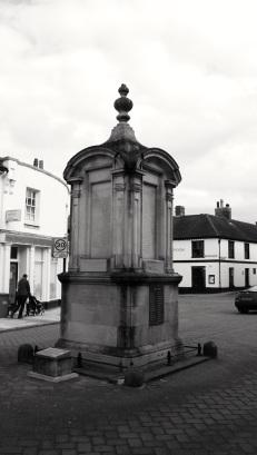 First World War memorial 1922 by Inigo Triggs High St Petersfield
