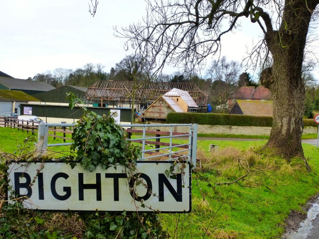 Bighton. No 'r'