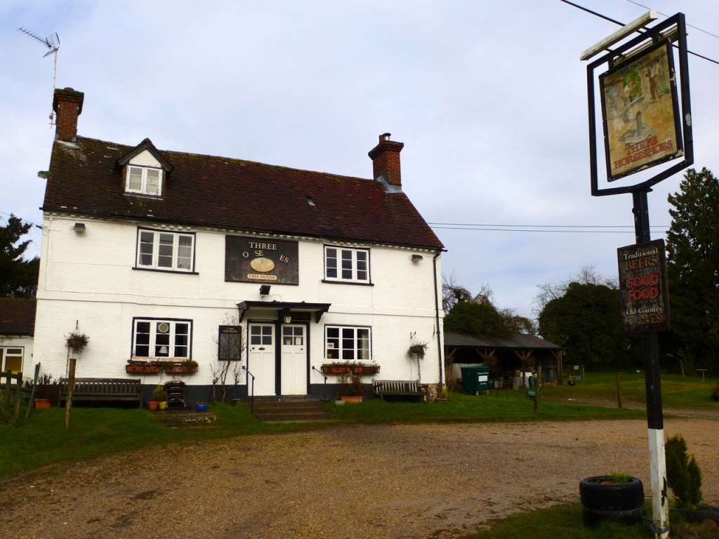 The Three Horseshoes, Bighton