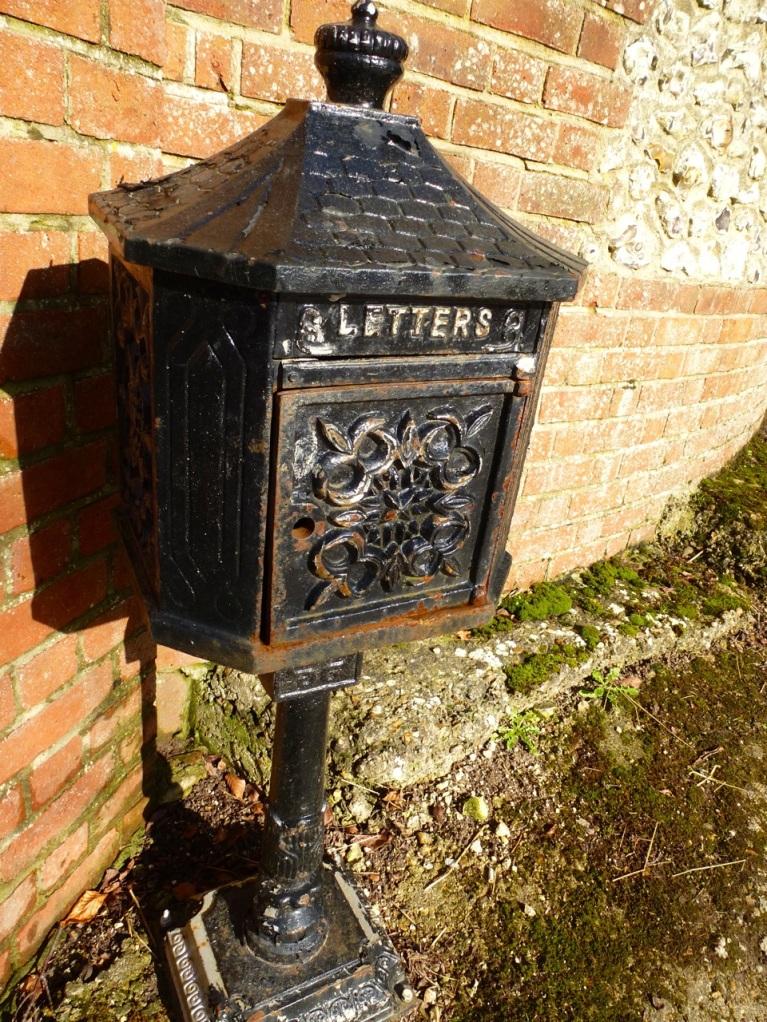 Old letter box