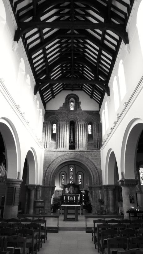 St Peters Church Petersfield C12 Interior