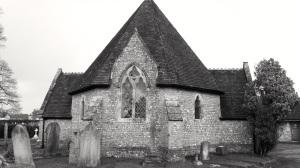 Non-conformist Cemetary Chapel Petersfield 1857