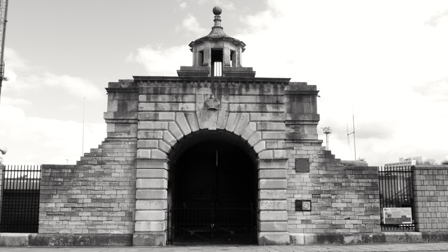 Landport Gate Portsmouth 1760
