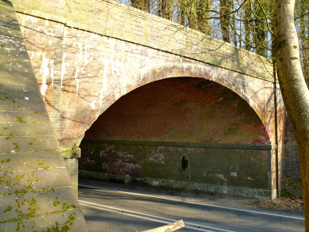 Meon Valley Line A272 Tunnel-2