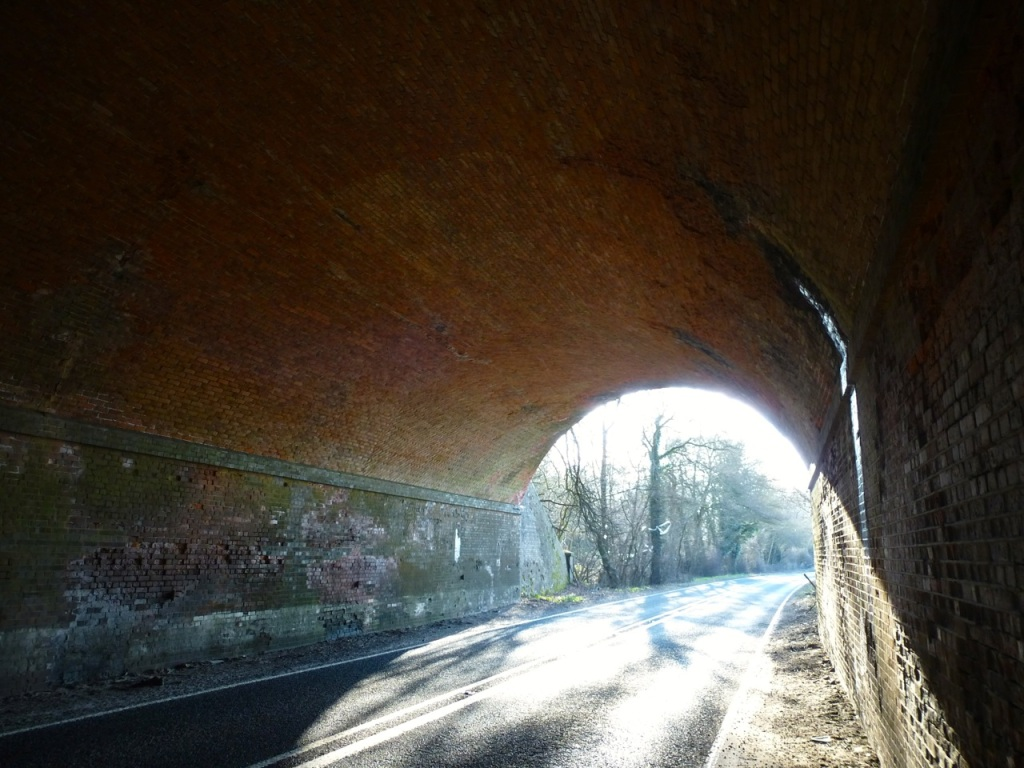 Meon Valley Line A272 Tunnel-4