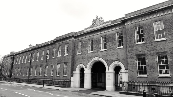 Portsmouth Grammar School (Cambridge Barracks) c1855
