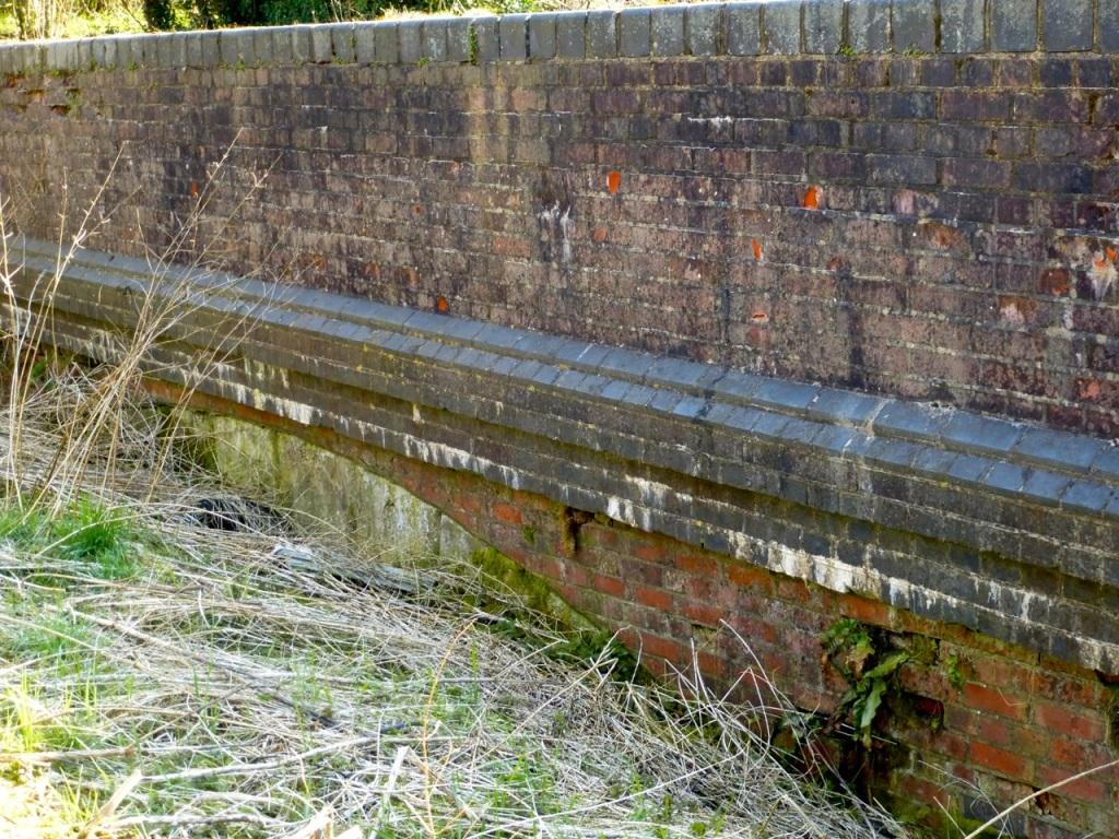 Road Bridge at Vinnels Lane, cutting filled in
