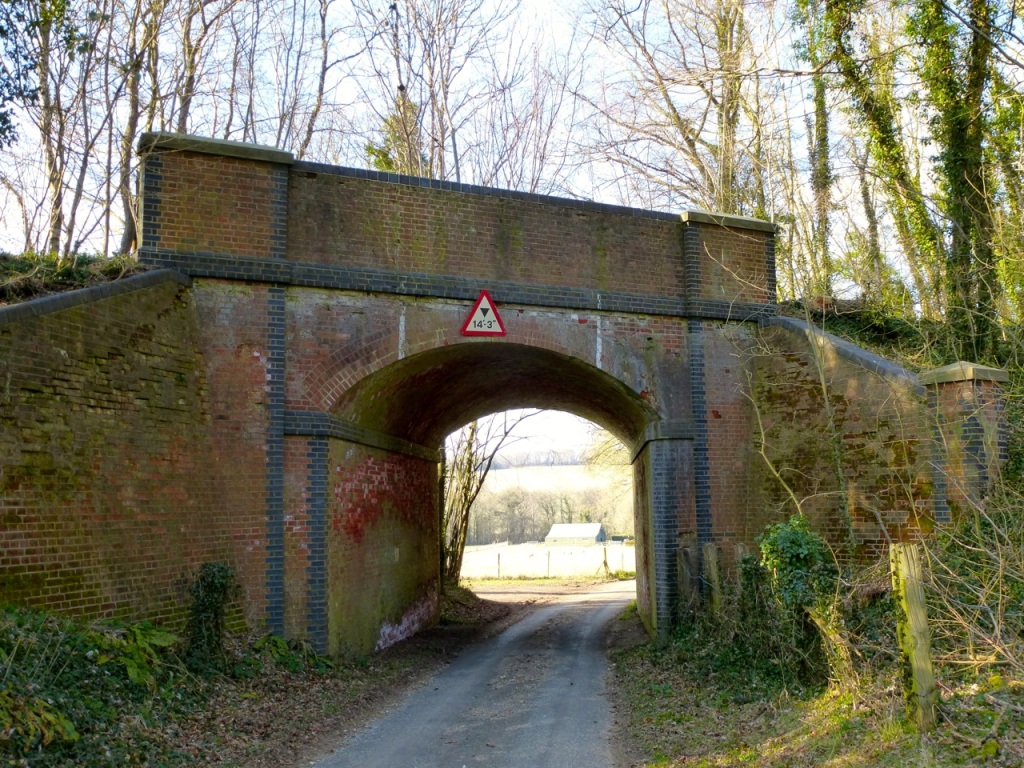 Stocks Lane bridge, near West Meon Hut