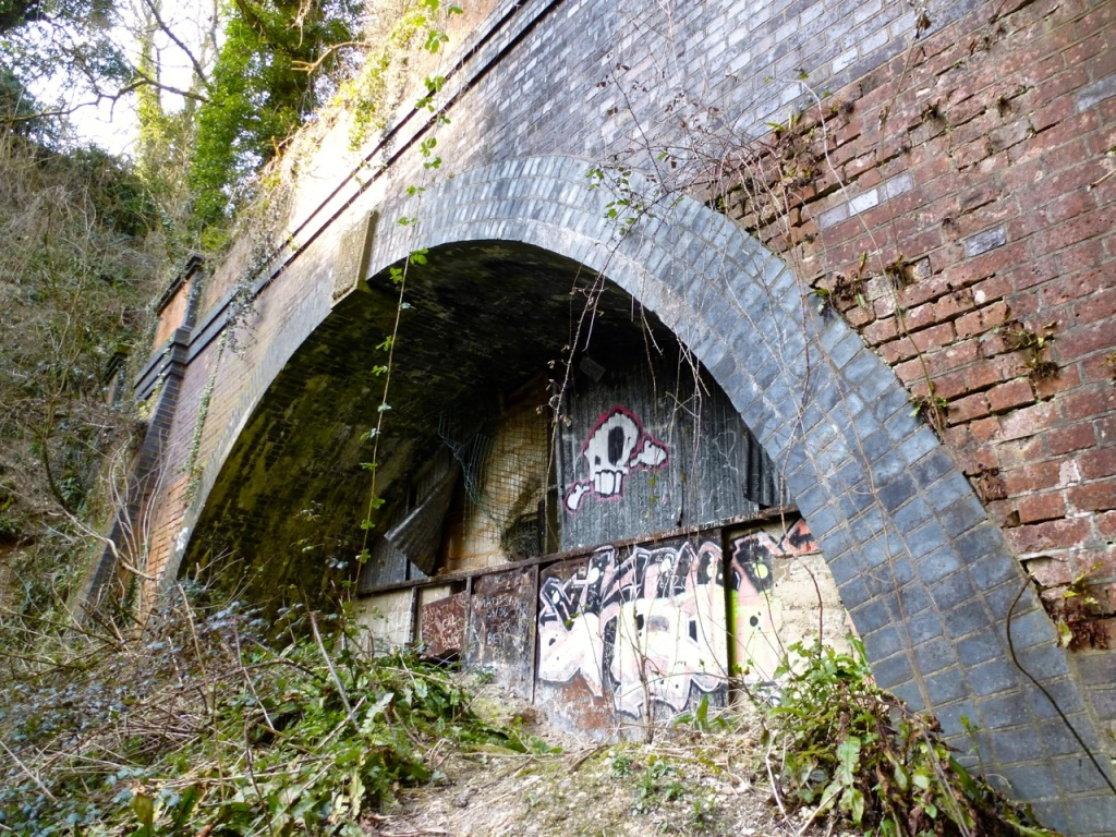 West Meon railway tunnel south arch