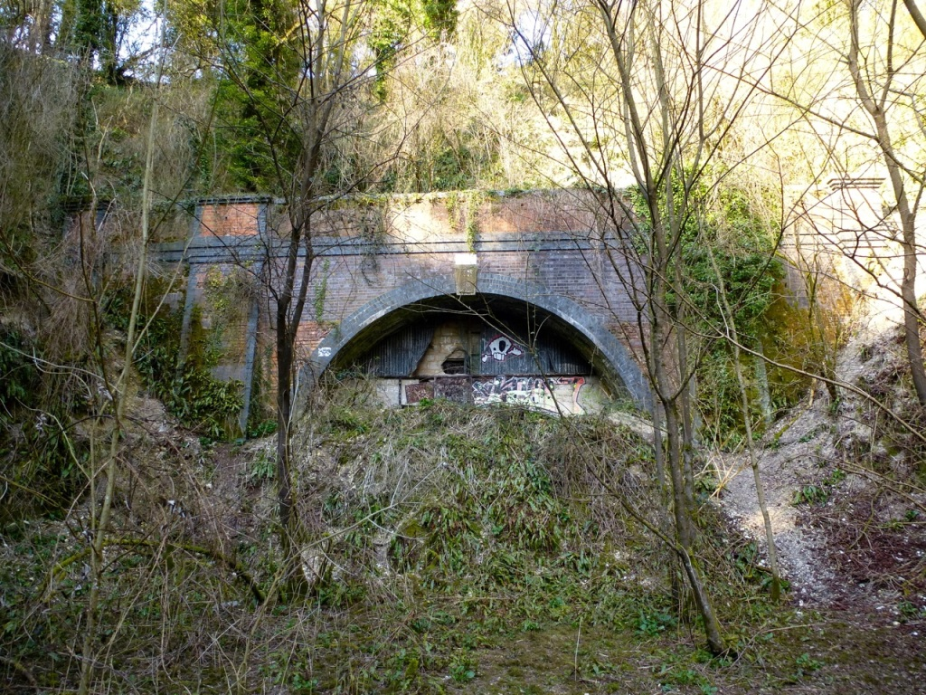 West Meon railway tunnel south