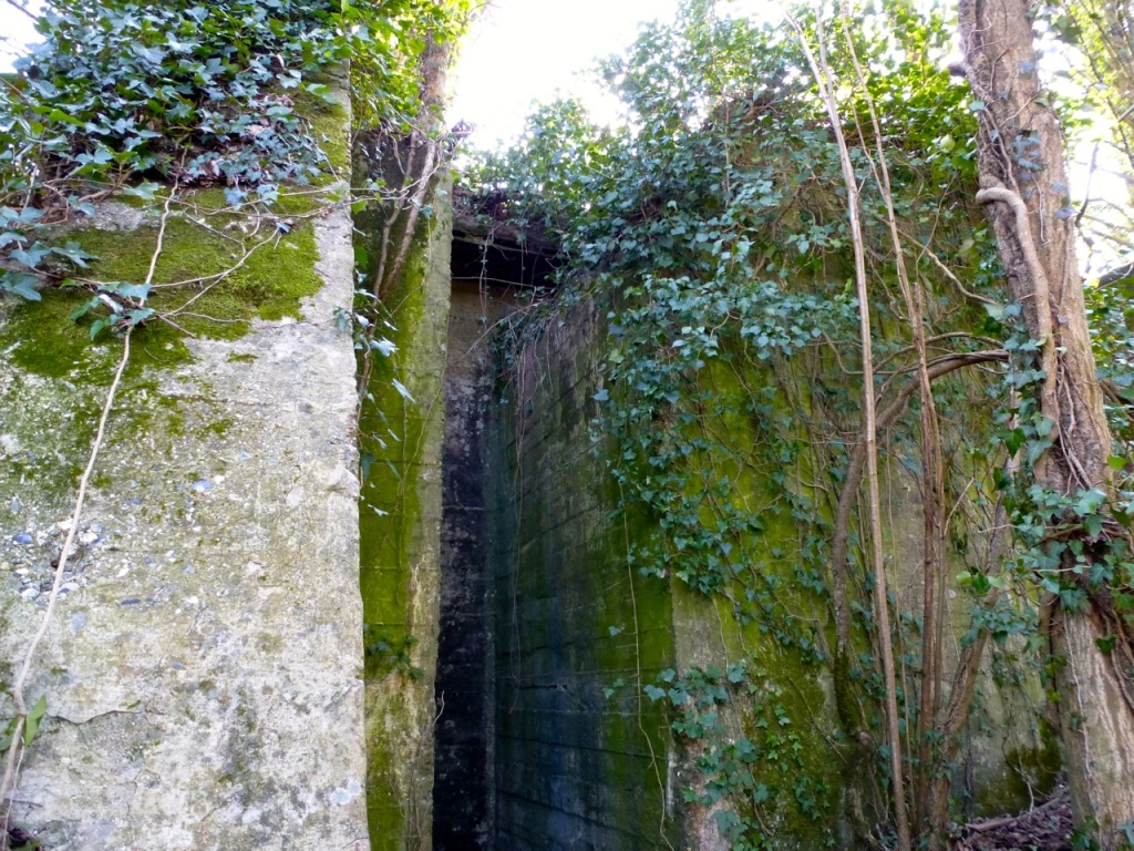 West Meon viaduct abutment-2