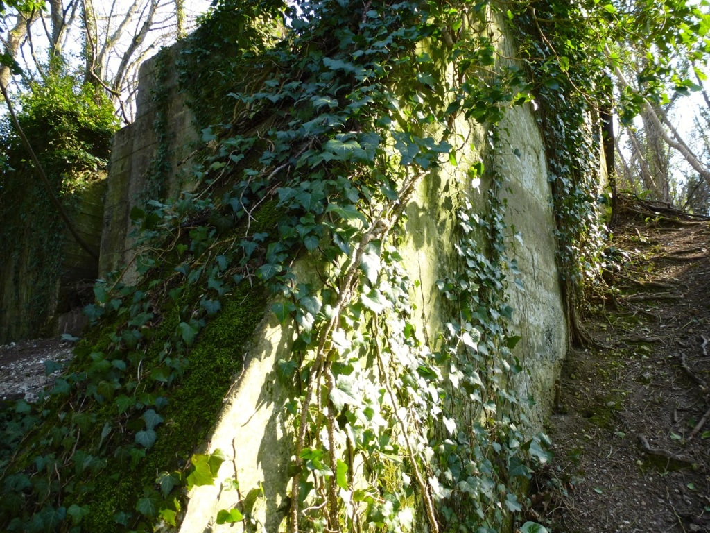 West Meon viaduct abutment