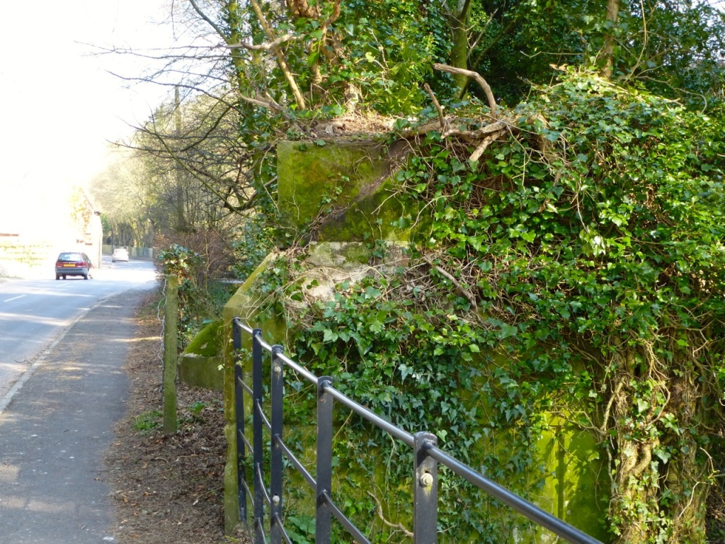 West Meon Viaduct Foundation Pedestal